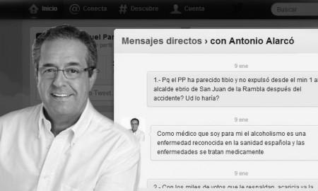 MENSAJES DIRECTOS CON ANTONIO ALARCÓ