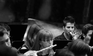 Imagen de archivo con integrantes de la Banda del Conservatorio. / Fimucité