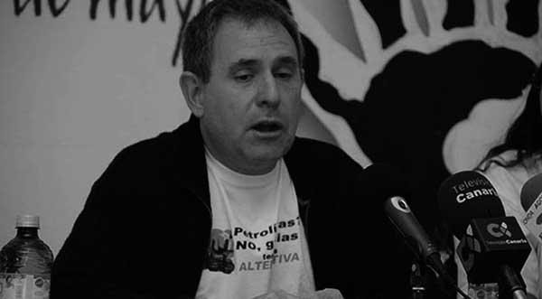 Fernando Sabaté, portavoz de Sí se puede. / CANARIAS3PUNTOCERO