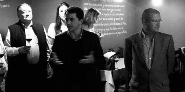 Bethencourt, consejero insular de Agricultura y presidente de Bodegas Insulares (izquierda), junto al dimitido José Luis Savoie, funcionario y ex consejero delegado de la empresa participada por el Cabildo. / CANARIAS3PUNTOCERO