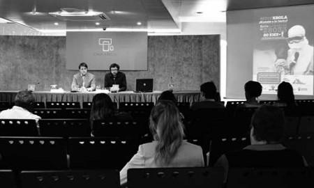 Momento de la presentación de la iniciativa, en Las Palmas de Gran Canaria. / CANARIAS3PUNTOCERO