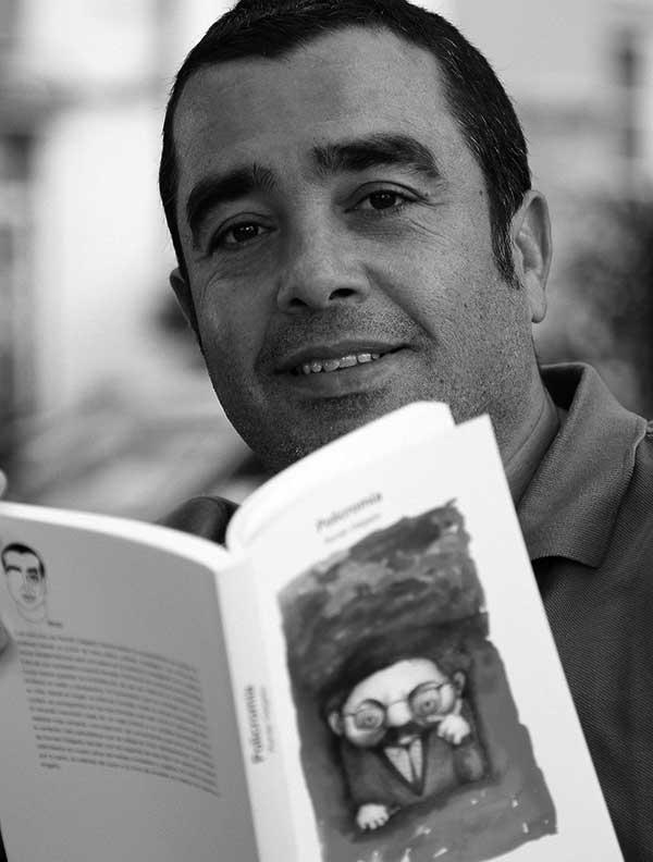 Román Delgado, periodista, geógrafo y profesor. / ÁLEX ROSA