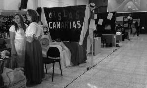 Zona expositiva del MITT 2015, en el IES Virgen de la Candelaria.