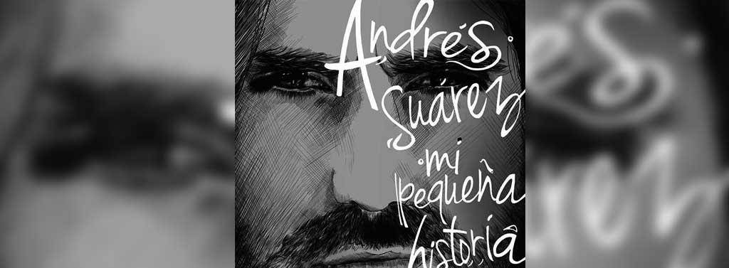 """a589775de9a ... el cantautor español Andrés Suárez estará firmando ejemplares de su  último trabajo """"Mi pequeña historia"""" en la séptima planta de El Corte Inglés  de Tres ..."""