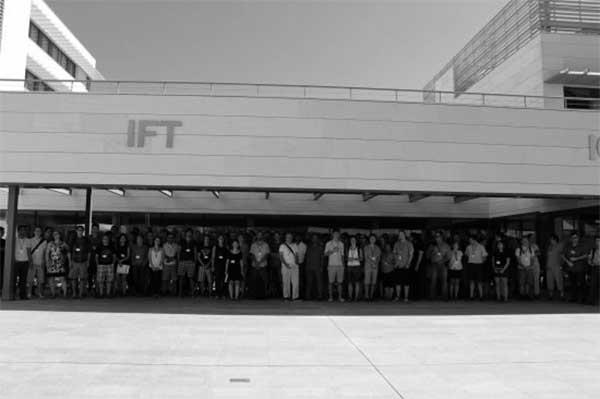 Participantes en la reunión anual de la colaboración internacional SDSS-IV en el Instituto Física Teórica IFT UAM-CSIC de Madrid.