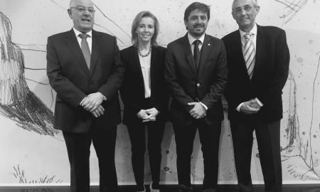 Los cuatro presidentes de las patronales canarias, juntos en Fitur.jpg – Versión 2