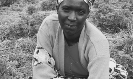 Portrait of woman from rwanda africa – Versión 2
