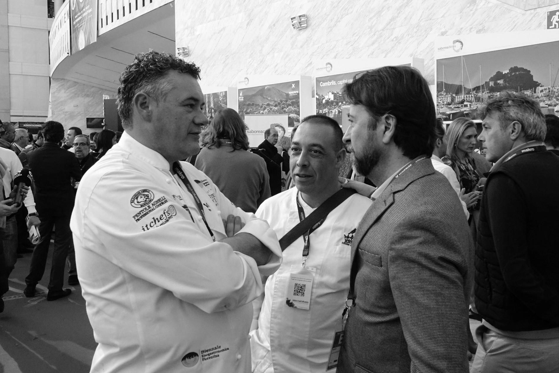 Roberto Capone y Carlos Alonso