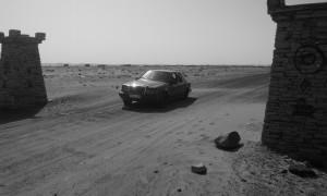 Mercedes por el desierto