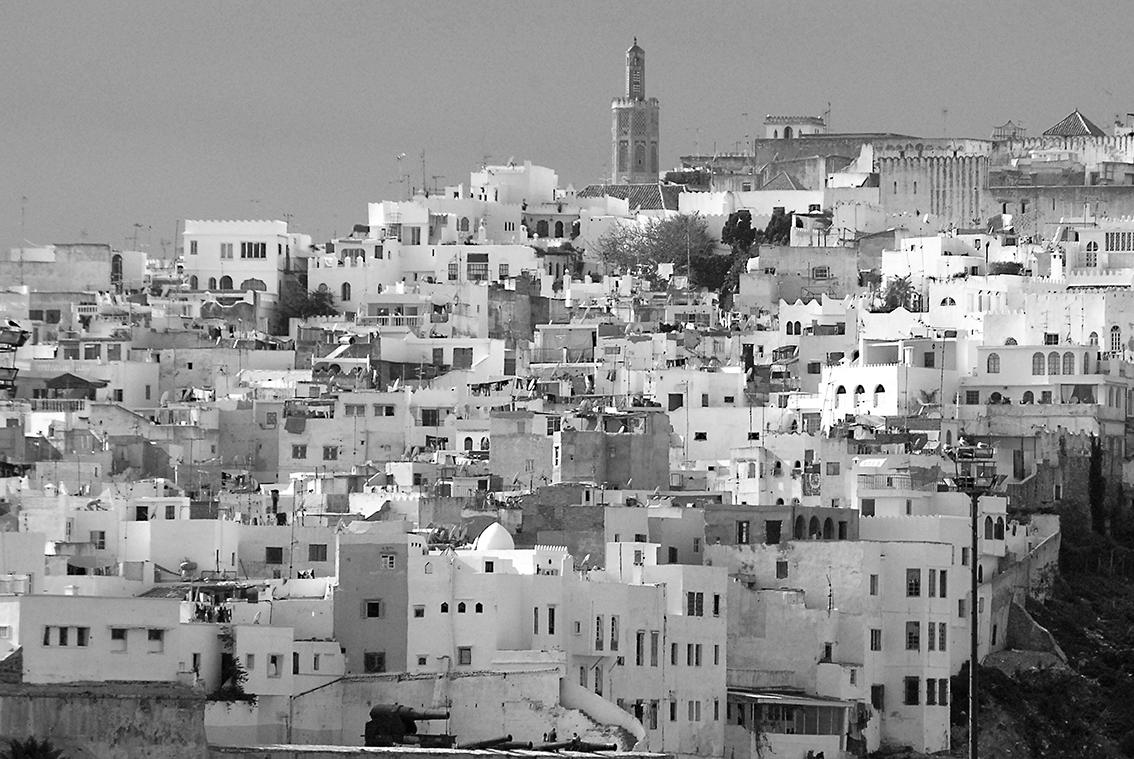Vista de la Medina desde el puerto de Tánger