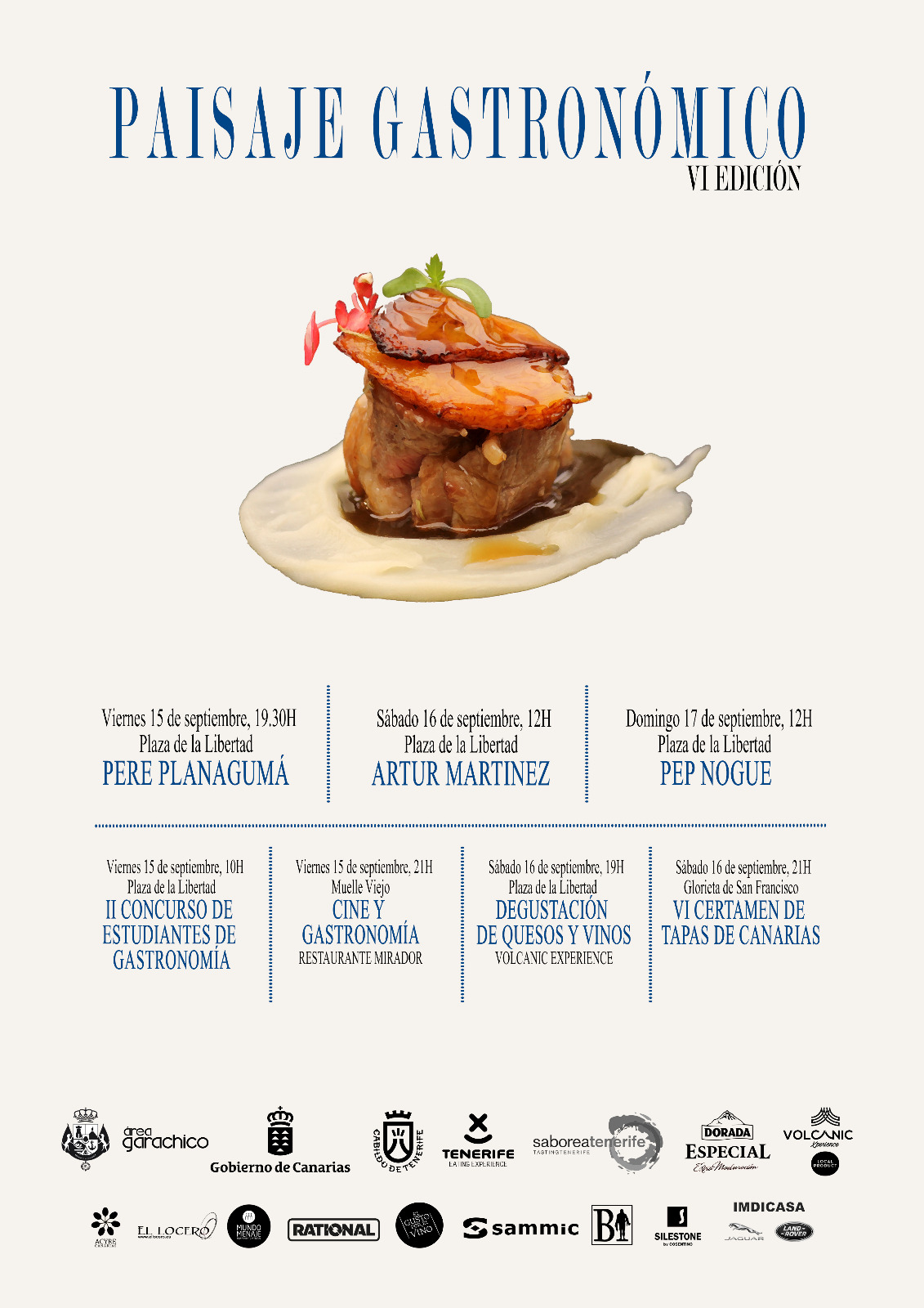 Cartel Paisaje Gastronómico 2017
