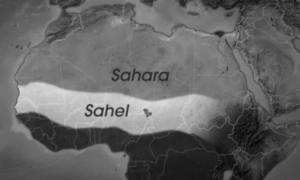 mapa sahel