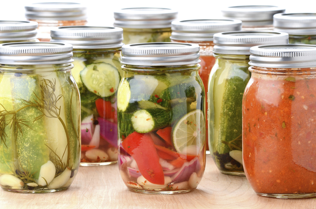 Preserved Food In Jars