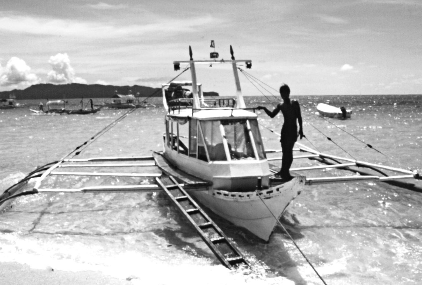 Banka, transporte marítimo entre islas