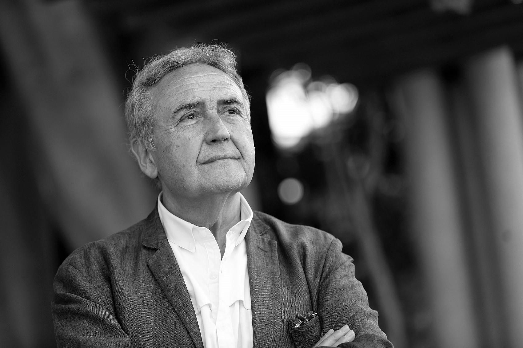 Vicente Molina Foix, en el homenaje a Alfonso Delgado y su Queda la broza