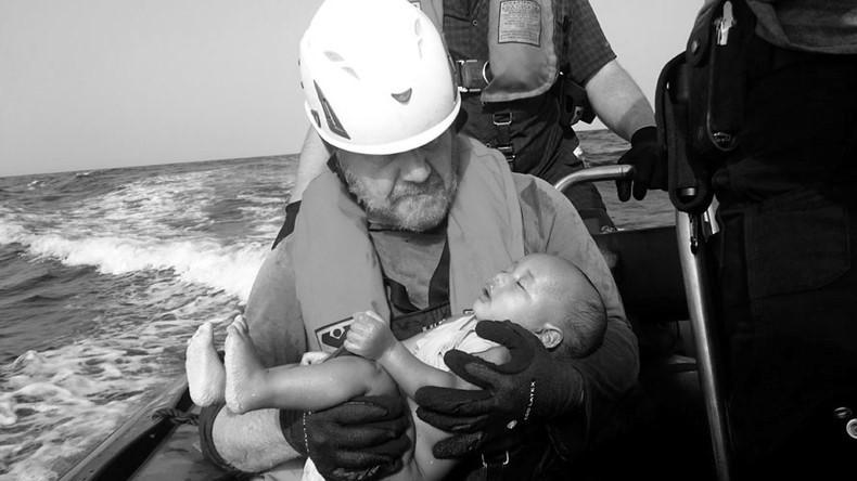 Rescates en el mar Mediterráneo