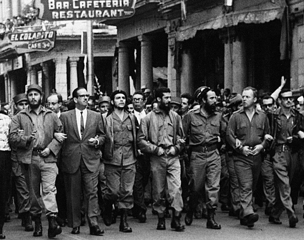 Marcha en Cuba