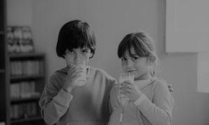 Recogida de lecha para el Banco de Alimentos de Tenerife