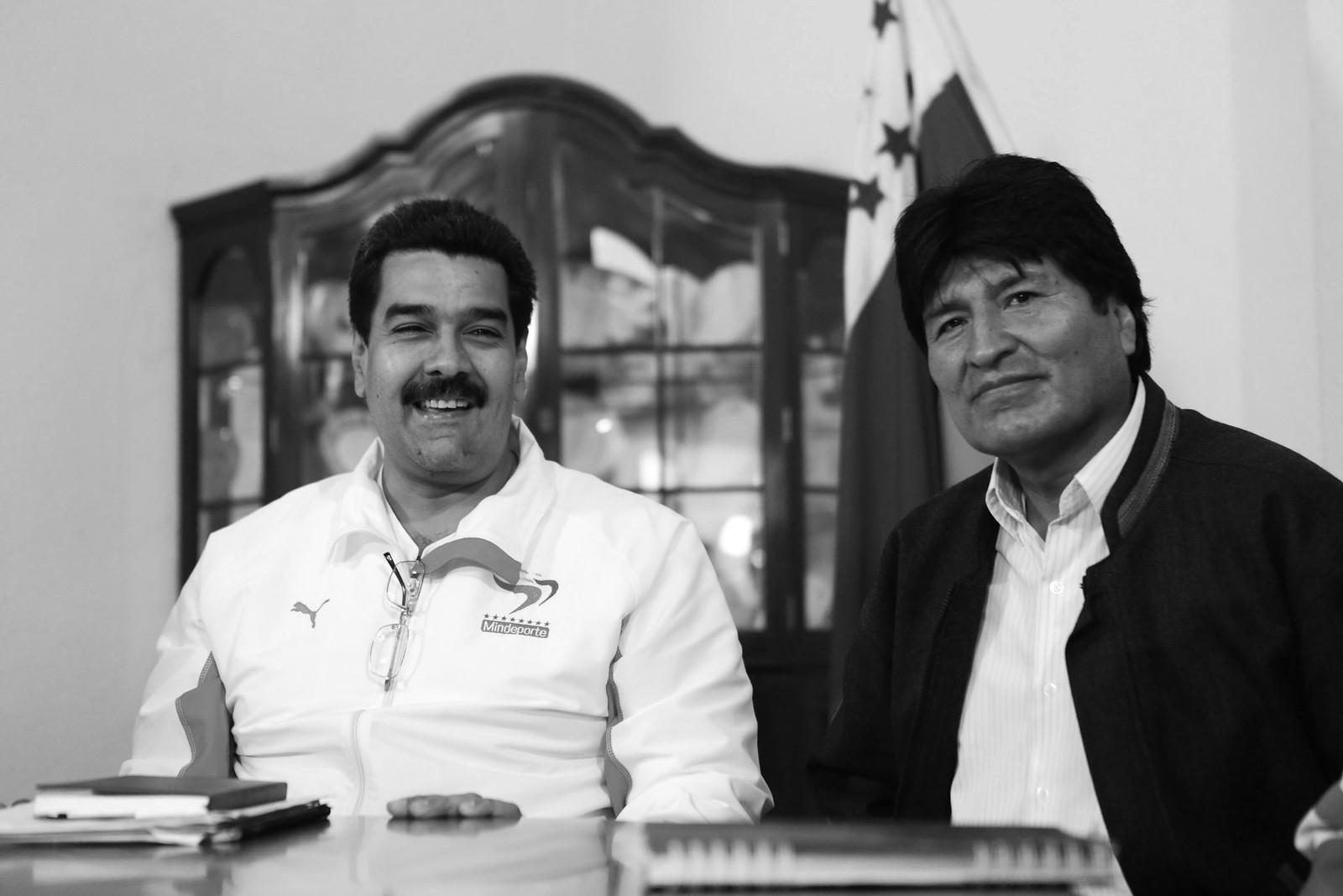 Evo y Maduro