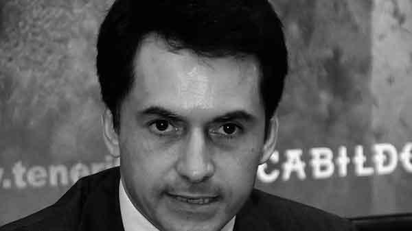 José Joaquín Bethencourt, consejero insular y presidente del consejo de administración de la empresa mixta.