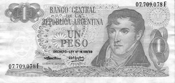 PESO LEY 18188