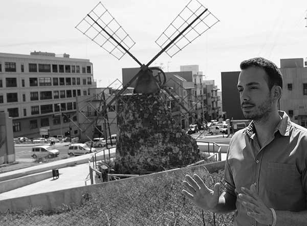 Retrato de Javier Rivero / Foto: Airán García