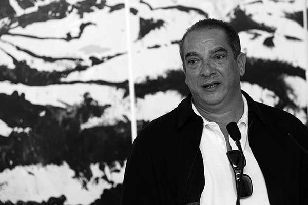Fernando Álamo, Artista plástico nacido en Santa Cruz de Tenerife y Premio Canarias de Bellas Artes 2014.