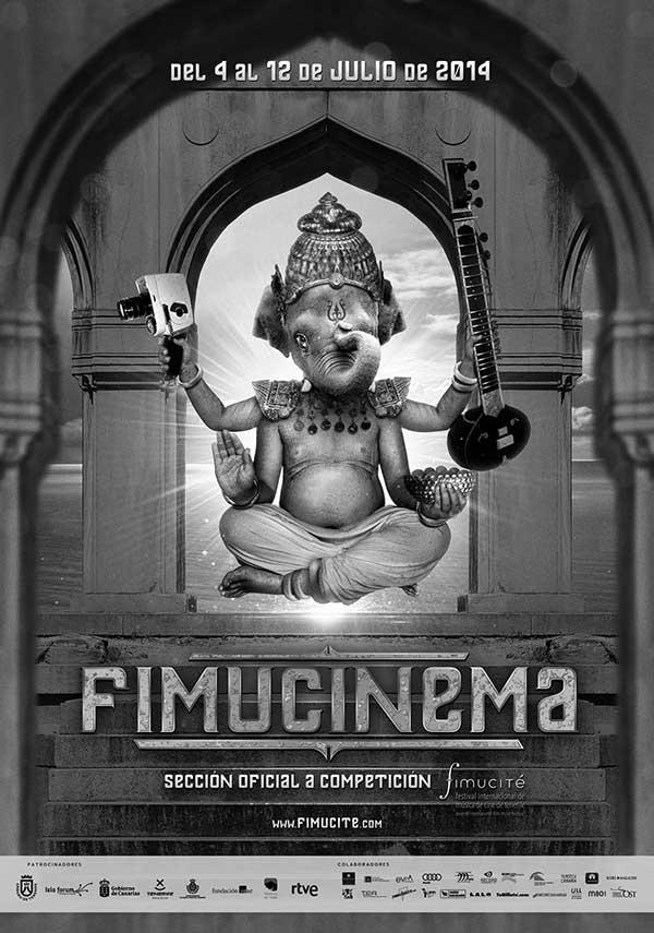 Cartel de Fimucinema 2014. / Fimucité