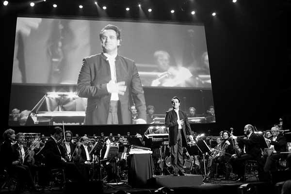 Diego Navarro, en una intervención anterior en Cracovia. / CANARIAS3PUNTOCERO