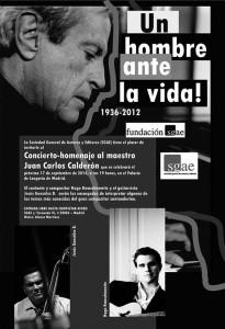 Cartel de la cita convocada en Madrid este 17 de septiembre. / CANARIAS3PUNTOCERO