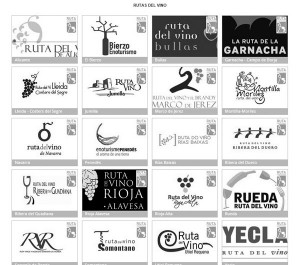 Pantallazo de la web oficial wineroutesofspain.com, con las 20 rutas hoy autorizadas por Acevin, ya sin la de Tenerife. / CANARIAS3PUNTOCERO