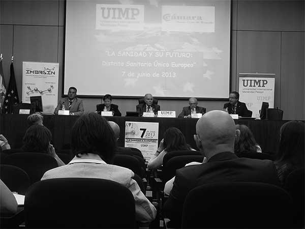 Inauguración de una cita de la UIMP en 2013, en Santa Cruz. / CANARIAS3PUNTOCERO