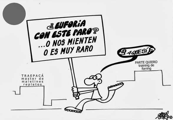 Viñeta de Forges firmada en El País el 23 octubre de 2013.