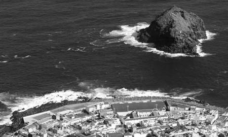 Vista aérea de Garachico. / WIKIPEDIA