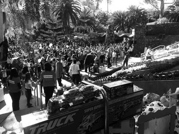 Imagen de archivo de una acción anterior. / CANARIAS3PUNTOCERO