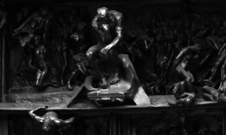 Las puertas del infierno, la obra de mayor importancia de Rodin. Museo Rodin.