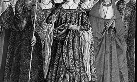 Imagen histórica sobre santa Úrsula. / CANARIAS3PUNTOCERO