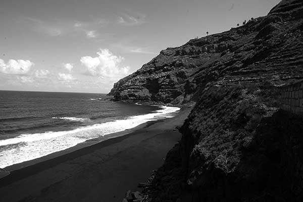 Vista general del Ancón, en la linde entre La Orotava y Santa Úrsula. / JUAN G. CRUZ