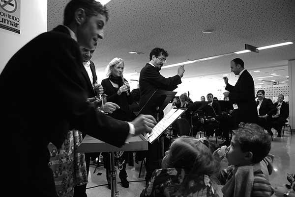 Imagen del concierto de este viernes en el HUC. / CANARIAS3PUNTOCERO