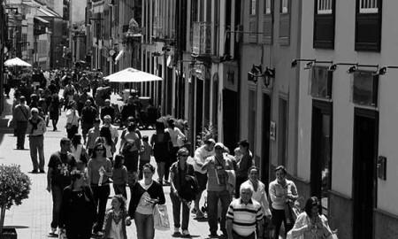 Calle de La Laguna, en su casco antiguo. / CANARIAS3PUNTOCERO