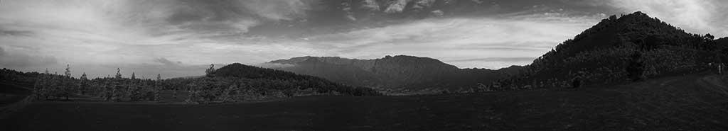 Imagen panorámica de Cumbre Vieja. / CANARIAS3PUNTOCERO