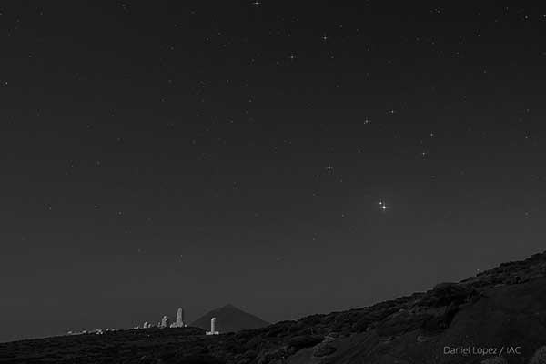 Imágenes de Daniel López / IAC - Instituto de Astrofísica de Canarias