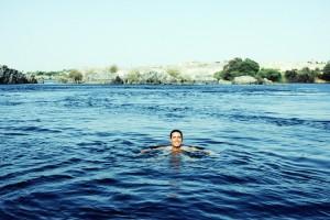 Se puede nadar en el Nilo