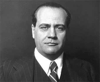 Don Juan Negrín, presidente del Gobierno de la República