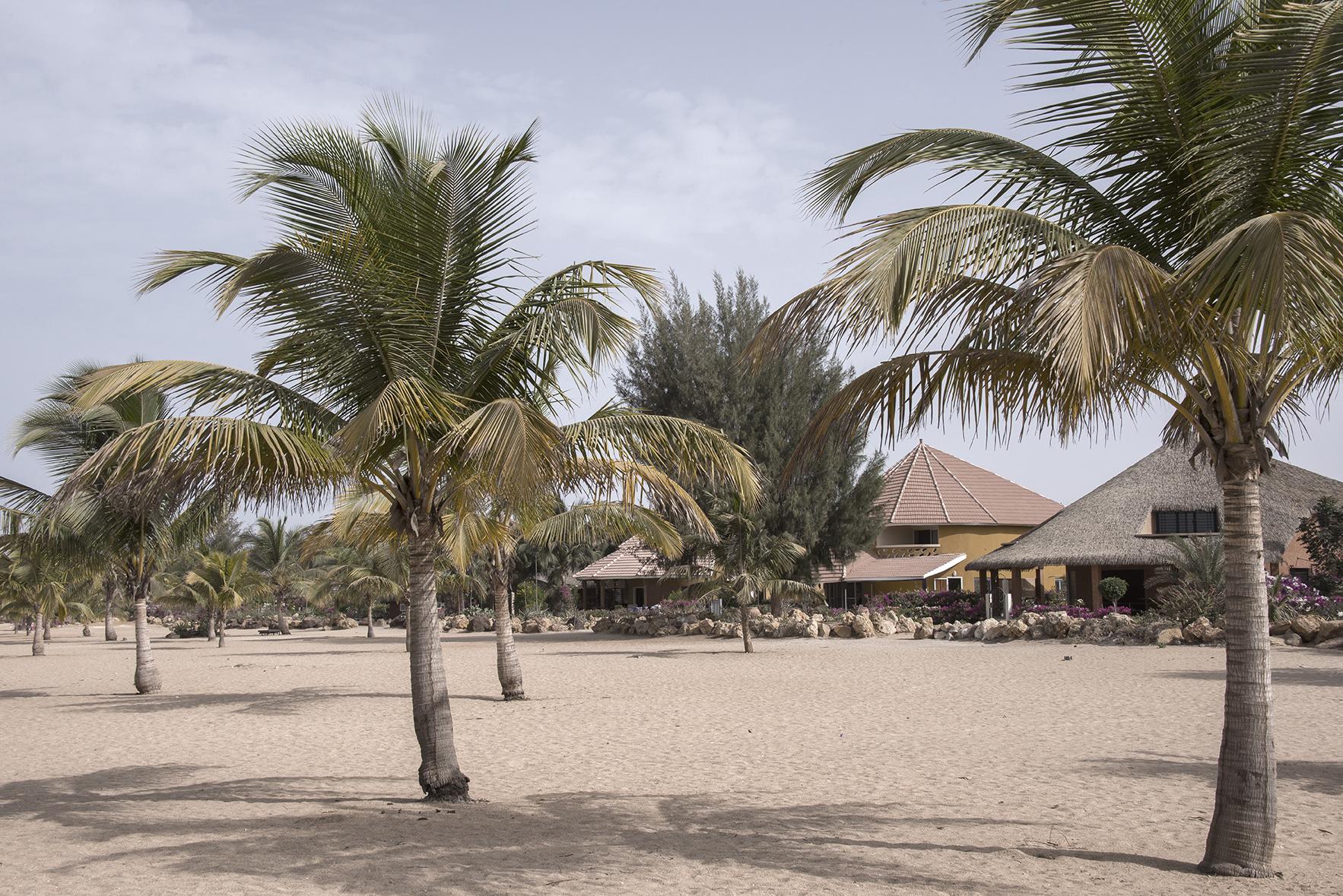 Alojamientos turísticos en las playas de Saly, en la región de Mbour