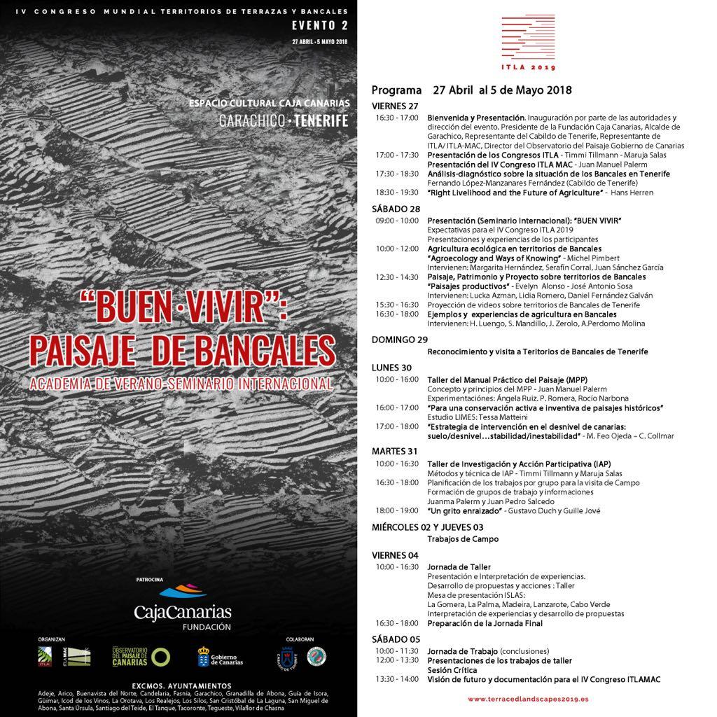 Programa oficial. Garachico