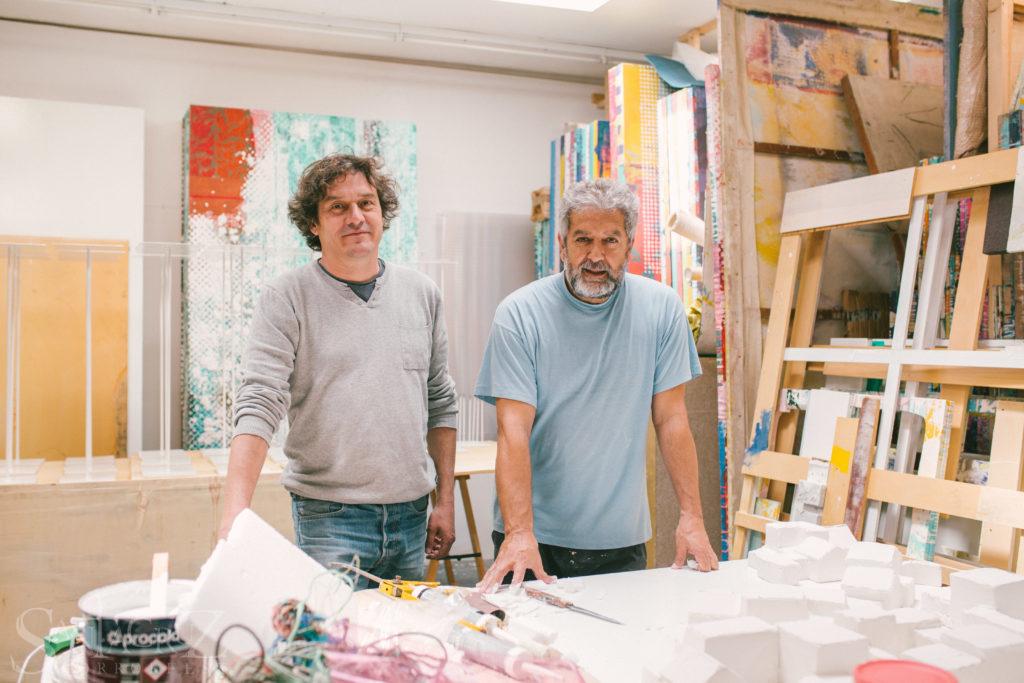 Alejandro Krawietz y Juan Gopar. Fotografía por Richard Cavero