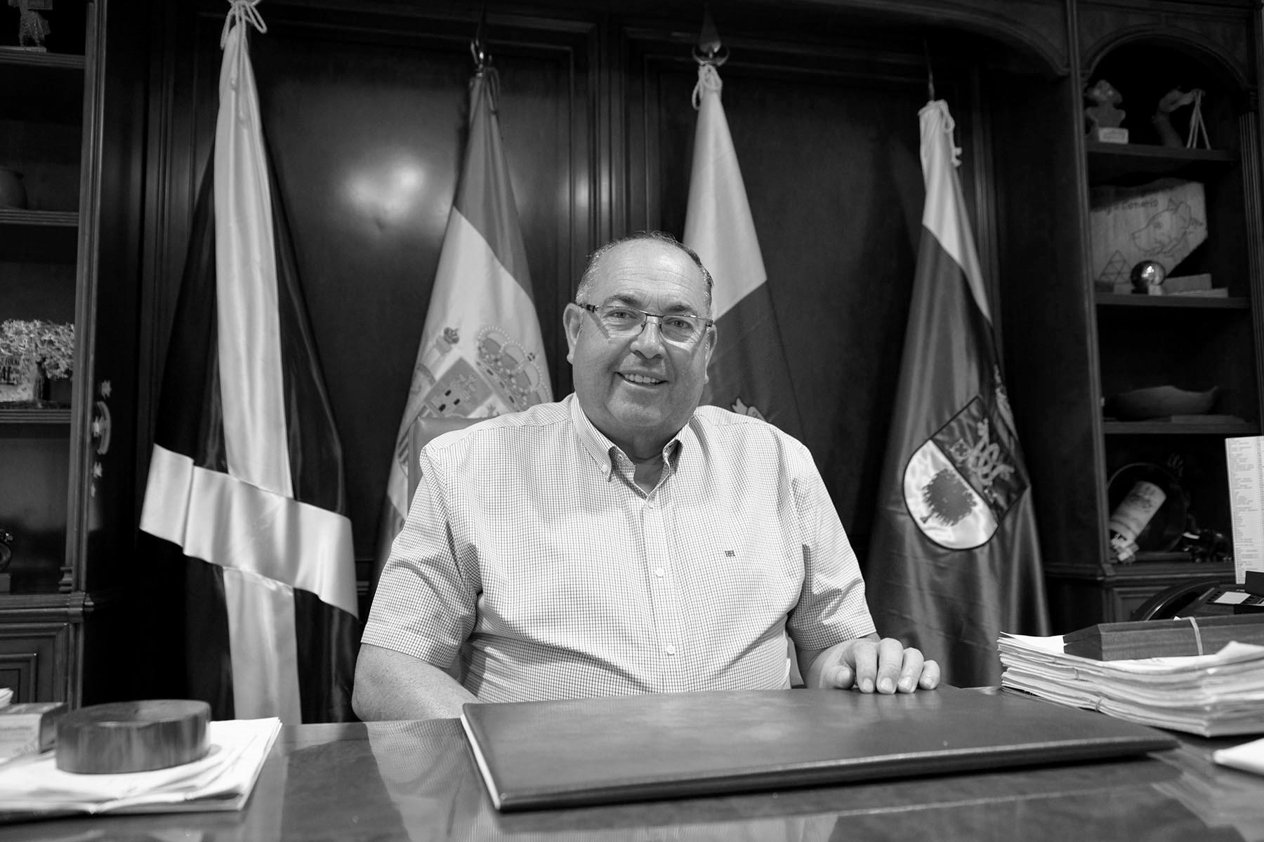 Mariano Pérez, alcalde de El Sauzal