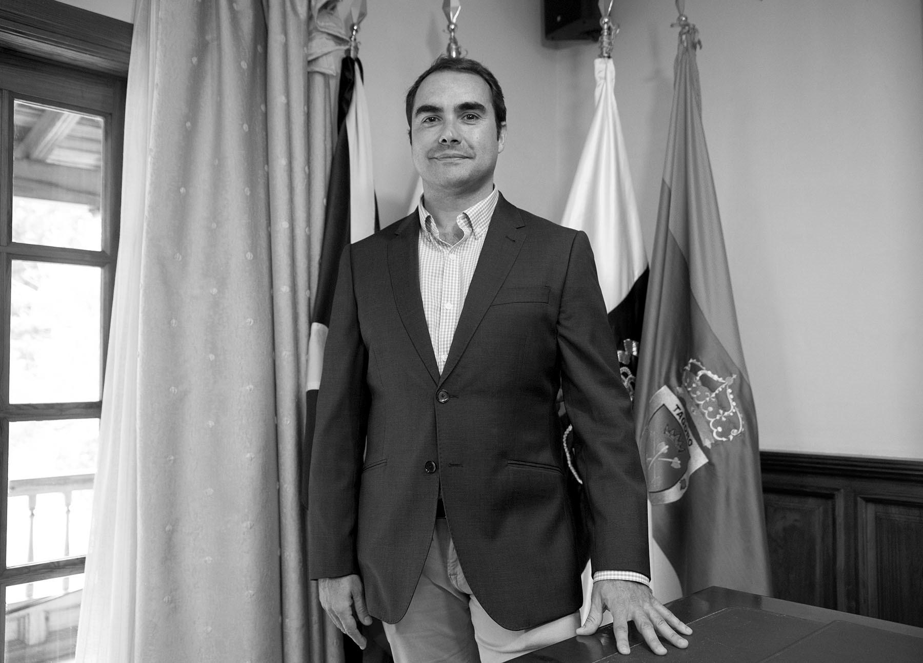 Daniel Díaz, alcalde de Tacoronte
