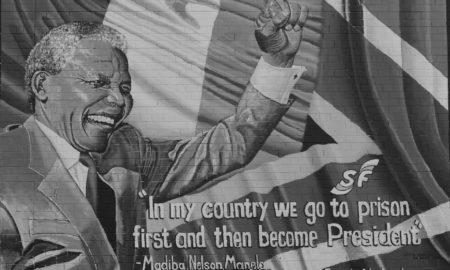 Mural en Sudáfrica